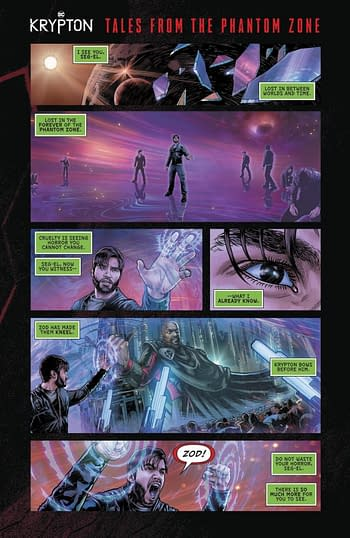 Krypton Tales From The Phantom Zone #1 Page 1