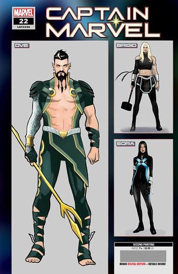 Marvel Comics Second Printings
