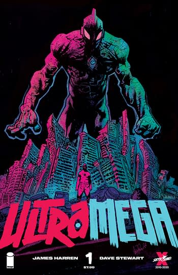 Ultramega #1 is Skybound's Biggest Launch Since Fire Power #1
