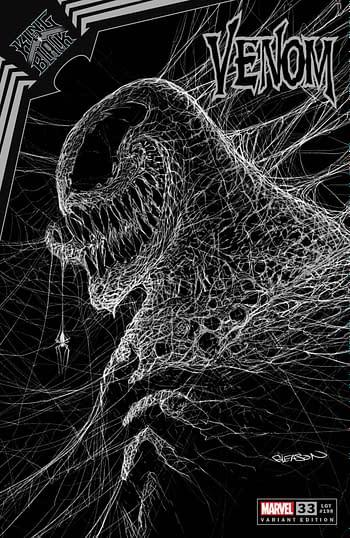 Patrick Gleason Creates Own Exclusive Venom Webhead Cover