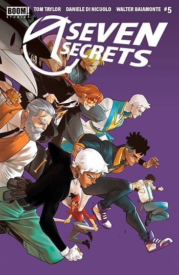 Seven Secrets #1 Gets Fifth Printing As Every Issue Goes Back To Print