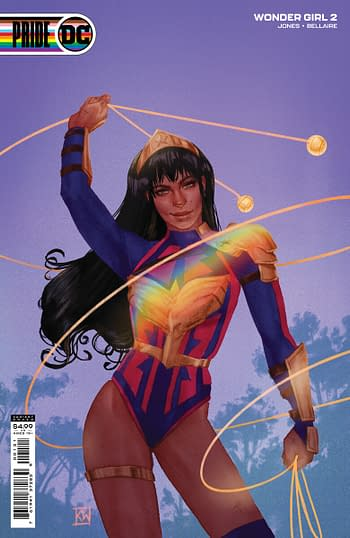 DC Pride Month variant cover