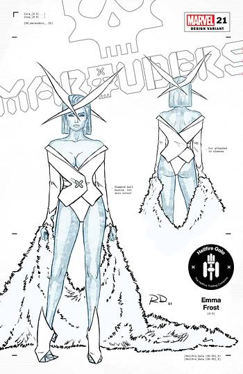 Marvel Unveils 12 Russell Dauterman Hellfire Gala