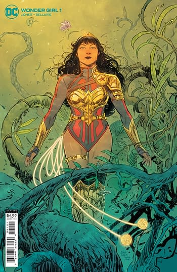 Cover to Wonder Girl #1 from DC Comics