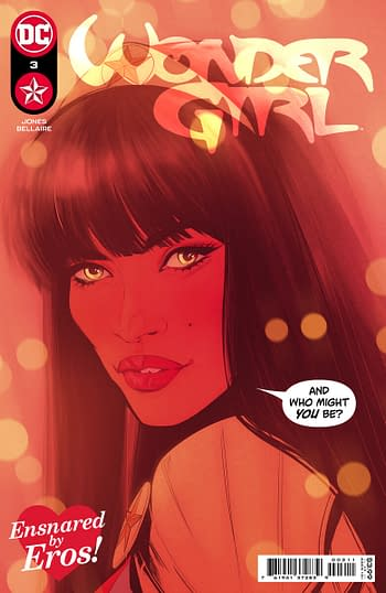 Cover to Wonder Girl #3 from DC Comics