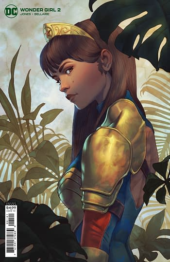 Cover to Wonder Girl #2 from DC Comics
