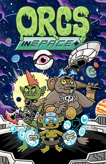 Cover image for ORCS IN SPACE TP VOL 01 (MR)