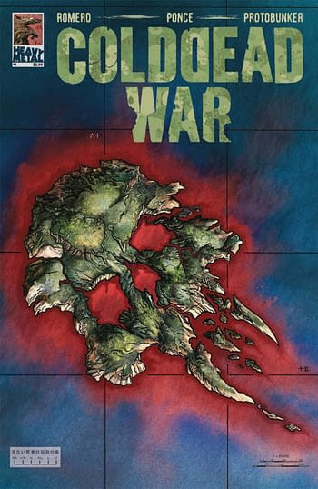 Cover image for COLD DEAD WAR TP