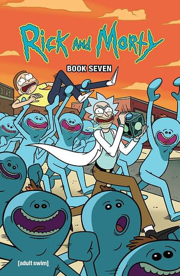 Cover image for RICK AND MORTY HC BOOK 07 DLX ED (MR)
