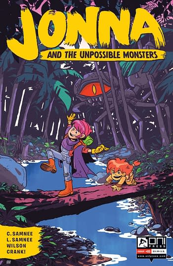 Cover image for JONNA AND THE UNPOSSIBLE MONSTERS #5 CVR B CANNON