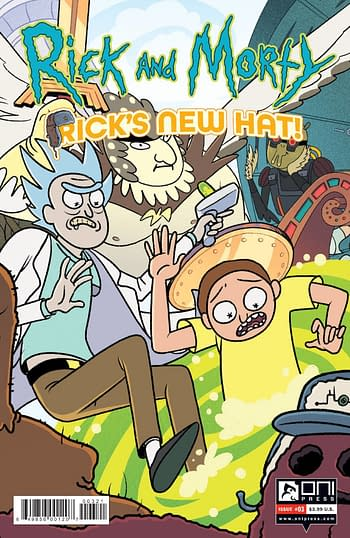 Cover image for RICK AND MORTY RICKS NEW HAT #3 CVR B STERN
