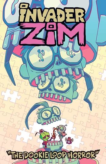 Cover image for INVADER ZIM DOOKIE LOOP HORROR ONESHOT CVR B OTT