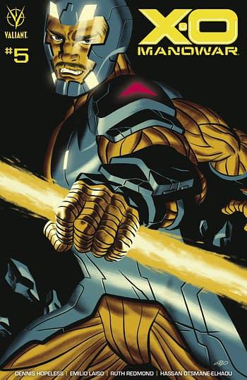 Cover image for X-O MANOWAR (2020) #5 CVR B CHO