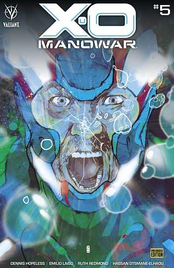 Cover image for X-O MANOWAR (2020) #5 CVR C 20 COPY INCV CHO