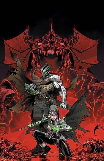 Cover image for POWER RANGERS UNLTD EDGE OF DARKNESS TP