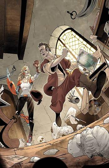 Cover image for BUFFY THE VAMPIRE SLAYER #29 CVR E UNLOCKABLE VAR GEORGIEV