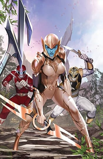 Cover image for MIGHTY MORPHIN #11 CVR A LEE