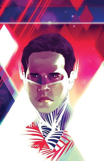 Cover image for MIGHTY MORPHIN #11 CVR H UNLOCKABLE VAR MONTES
