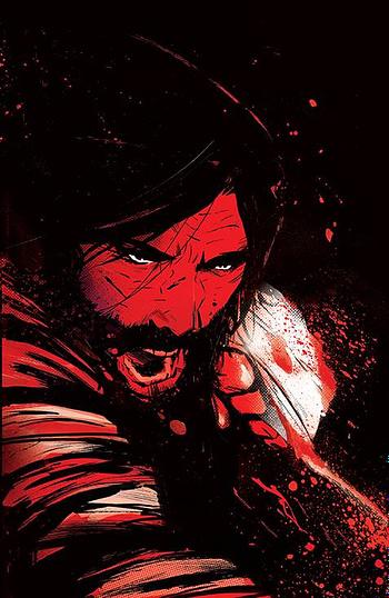 Cover image for BRZRKR (BERZERKER) #5 (OF 12) CVR C GARBETT FOIL (MR)