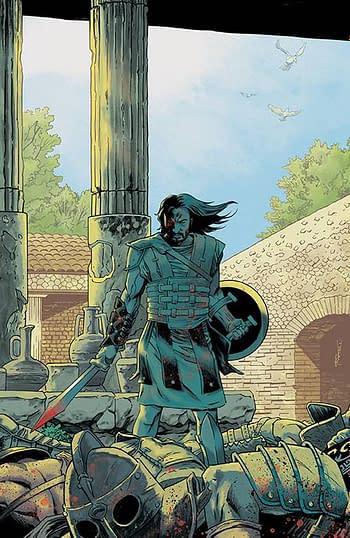 Cover image for BRZRKR (BERZERKER) #5 (OF 12) CVR G 100 COPY INCV SHALVEY (M