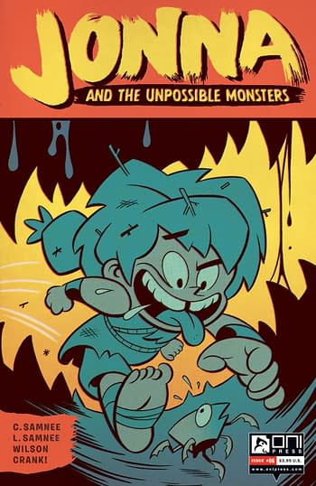 Cover image for JONNA AND THE UNPOSSIBLE MONSTERS #6 CVR B CANNON