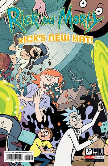 Cover image for RICK AND MORTY RICKS NEW HAT #4 CVR B STERN