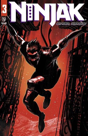 Cover image for NINJAK #3 CVR A DAGNINO