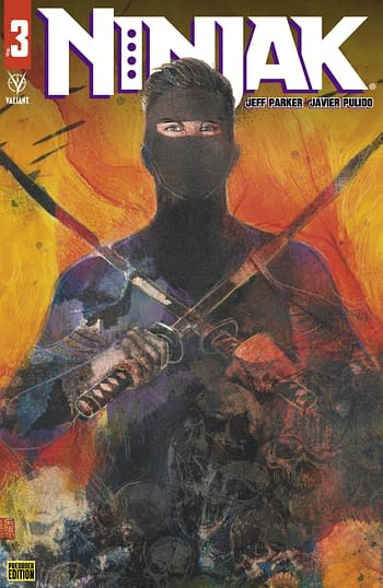 Cover image for NINJAK #3 CVR C PREORDER ORZU