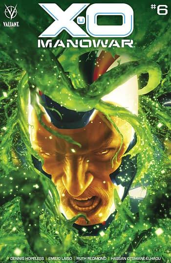 Cover image for X-O MANOWAR (2020) #6 CVR A RAHZZAH