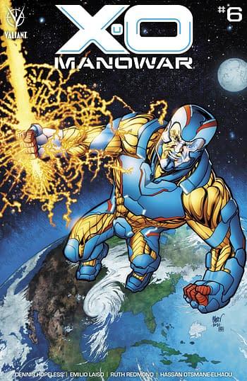 Cover image for X-O MANOWAR (2020) #6 CVR B JOHNSON