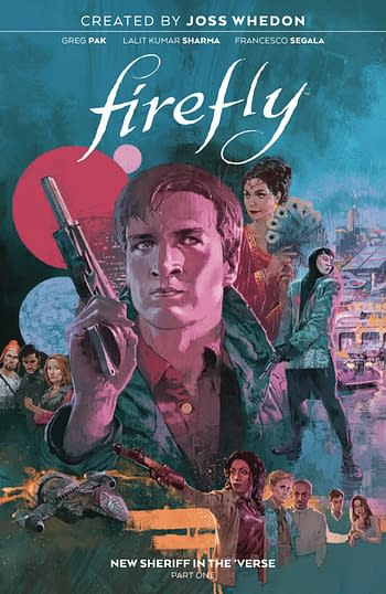 Cover image for FIREFLY NEW SHERIFF IN THE VERSE TP VOL 01