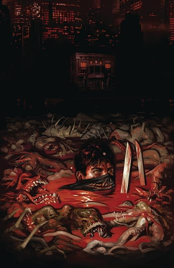 Cover image for HOUSE OF SLAUGHTER #1 CVR F 50 COPY INCV BUENO