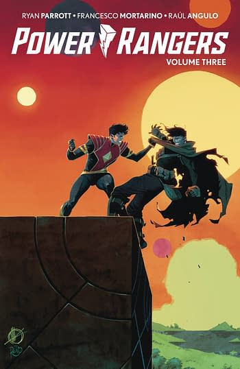 Cover image for POWER RANGERS TP VOL 03