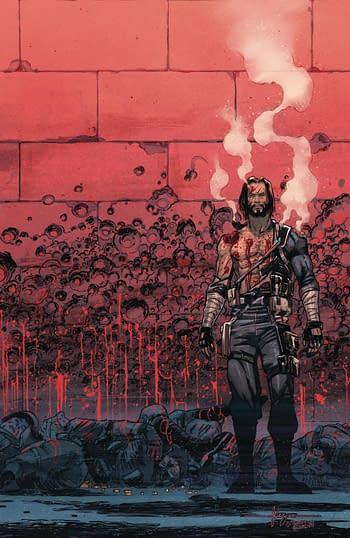 Cover image for BRZRKR (BERZERKER) #6 (OF 12) CVR B FERNANDEZ (MR)