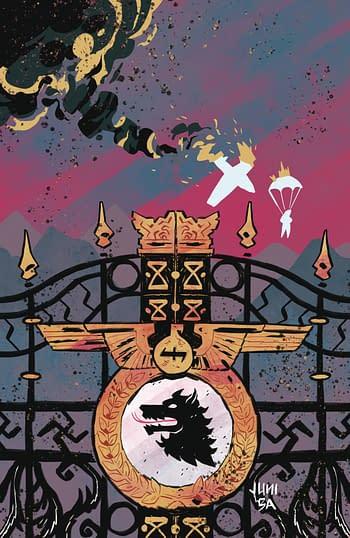 Cover image for DARK BLOOD #4 (OF 6) CVR B BA