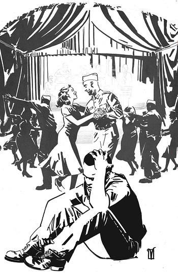 Cover image for DARK BLOOD #4 (OF 6) CVR C 10 COPY INCV DE LANDRO