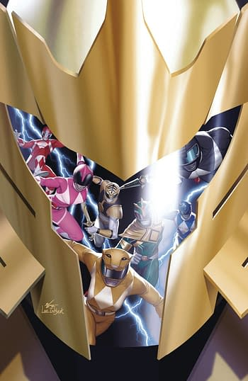 Cover image for MIGHTY MORPHIN #12 CVR C 10 COPY INCV LEE
