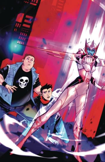 Cover image for MIGHTY MORPHIN #12 CVR D 15 COPY INCV CARLINI