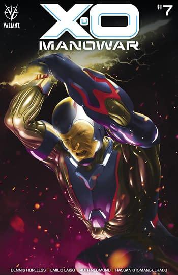Cover image for X-O MANOWAR (2020) #7 CVR A RAHZZAH