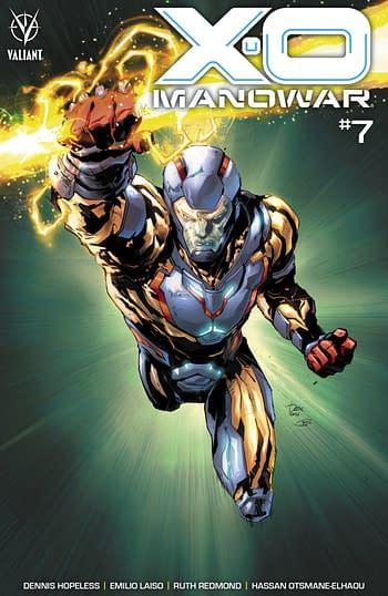 Cover image for X-O MANOWAR (2020) #7 CVR B SOY