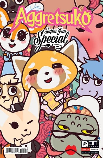 Cover image for AGGRETSUKO SUPER FUN SPEC CVR B STERN