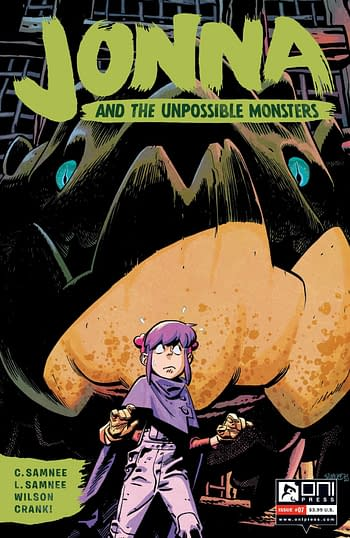 Cover image for JONNA AND THE UNPOSSIBLE MONSTERS #7 CVR A SAMNEE