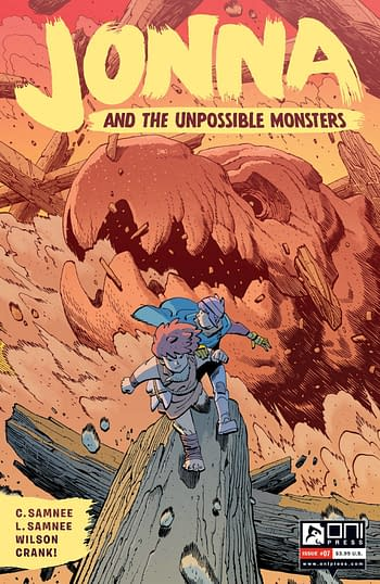 Cover image for JONNA AND THE UNPOSSIBLE MONSTERS #7 CVR B YOUNG