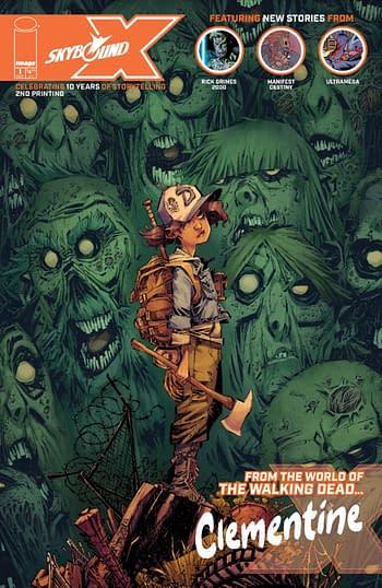 PrintWatch: Skybound X #1 Godkiller: Tomorrow's Ashes #1 Second Prints