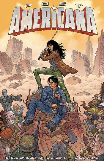 Cover image for POST AMERICANA TP (MR)