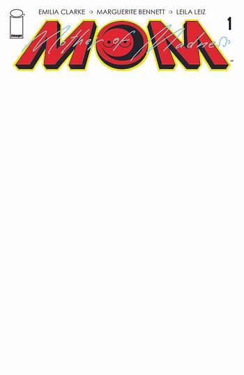 Cover image for MOM MOTHER OF MADNESS #1 (OF 3) CVR D BLANK CVR (MR)