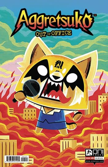 Cover image for AGGRETSUKO OUT OF OFFICE #1 CVR B KOLB