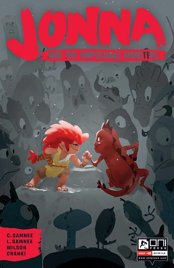 Cover image for JONNA AND THE UNPOSSIBLE MONSTERS #8 CVR B CAMPION