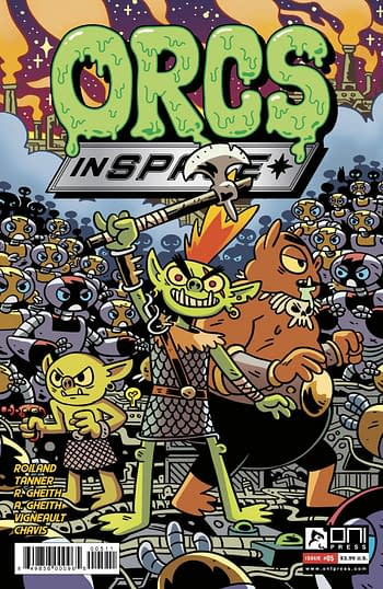 Cover image for ORCS IN SPACE