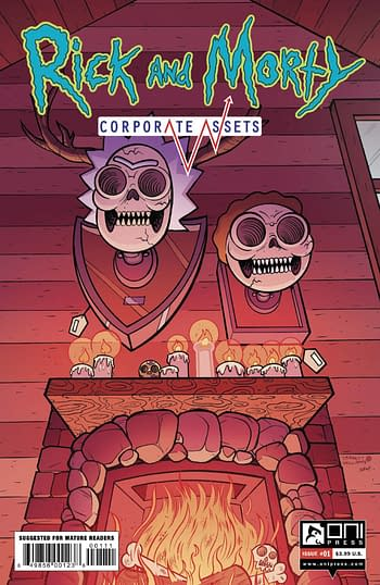 Cover image for RICK AND MORTY CORPORATE ASSESTS #1 CVR A WILLIAMS